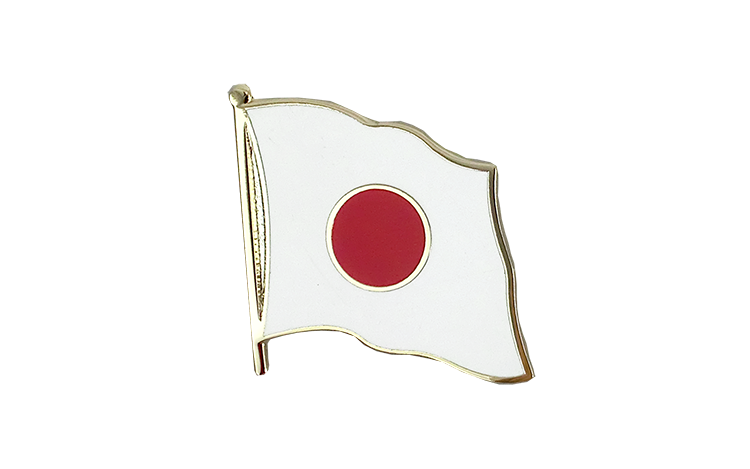 Flag Lapel Pin Japan