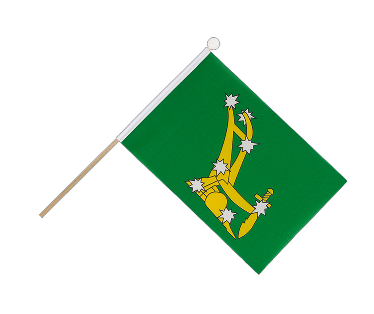 Hand Waving Flag Starry Plough green 1916-1934 - 6x9""