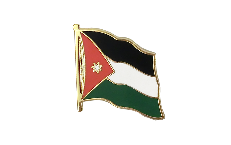 Flag Lapel Pin Jordan