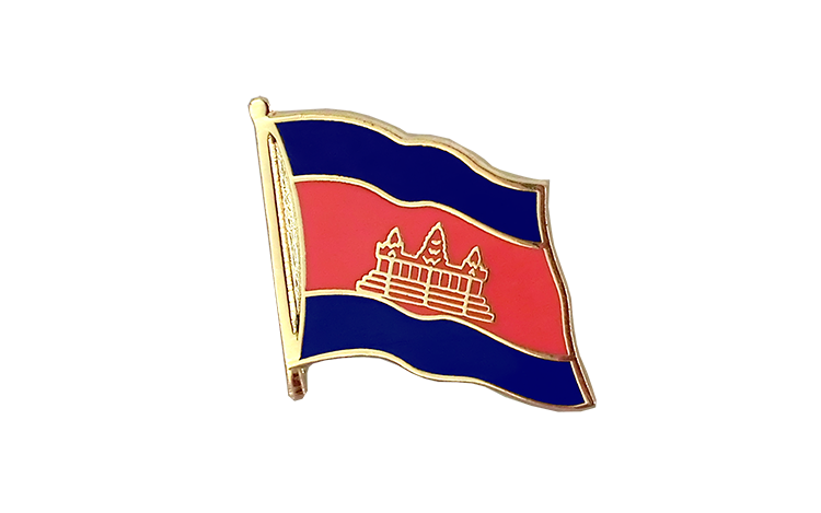 Flag Lapel Pin Cambodia