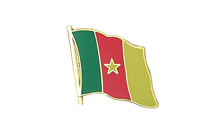 Flag Lapel Pin Cameroon