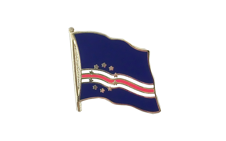 Flag Lapel Pin Cape Verde