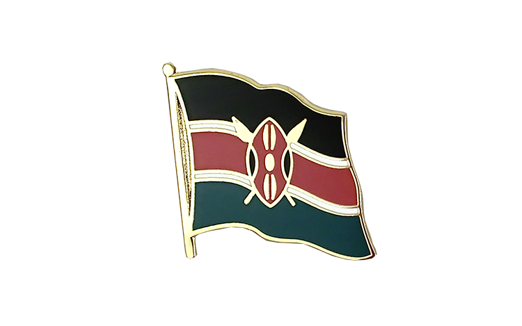 Flag Lapel Pin Kenya