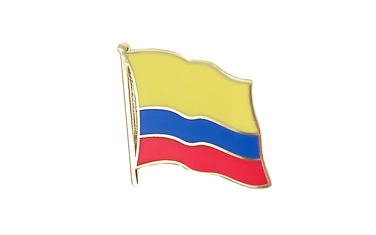 Flag Lapel Pin Colombia