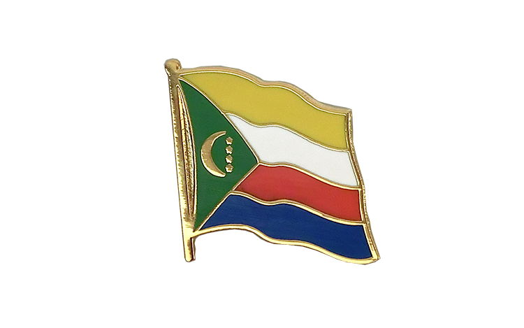 Comoros Flag Lapel Pin