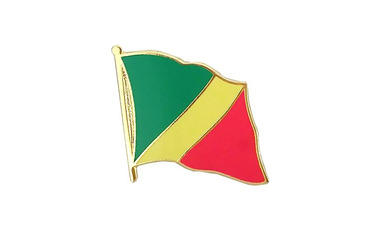 Flag Lapel Pin Congo