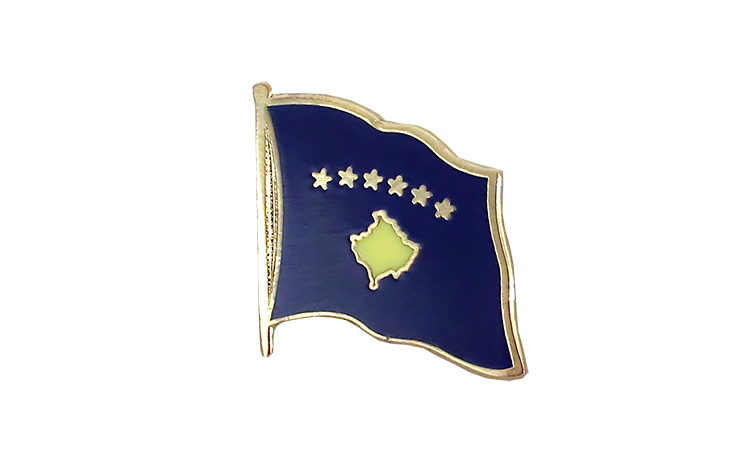 Flag Lapel Pin Kosovo
