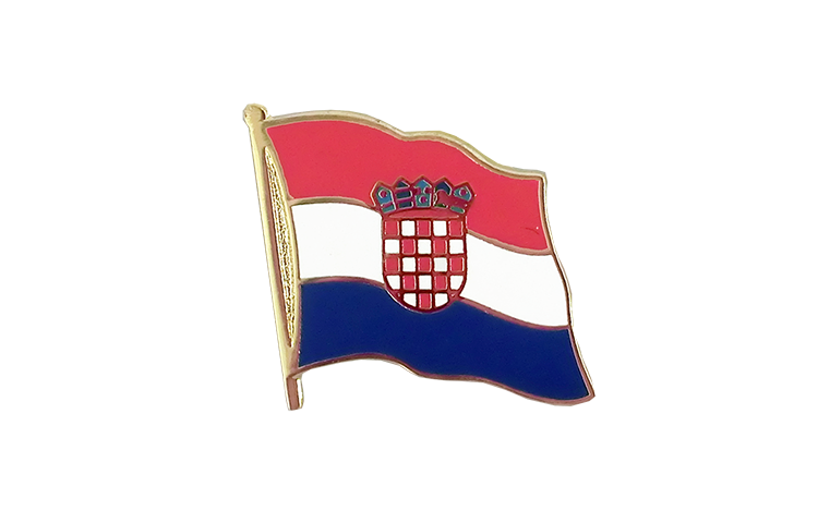 Flag Lapel Pin Croatia