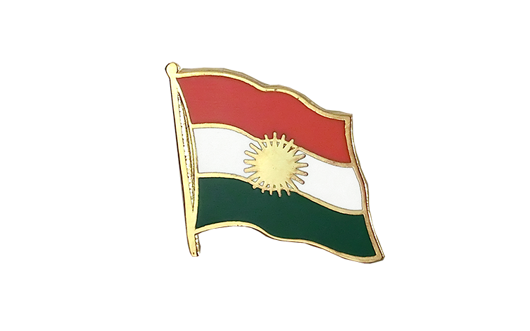 Flag Lapel Pin Kurdistan