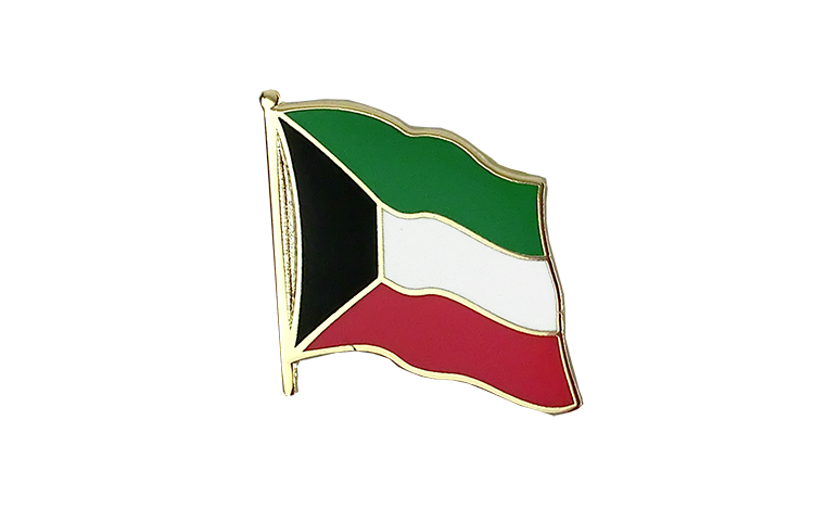 Flag Lapel Pin Kuwait