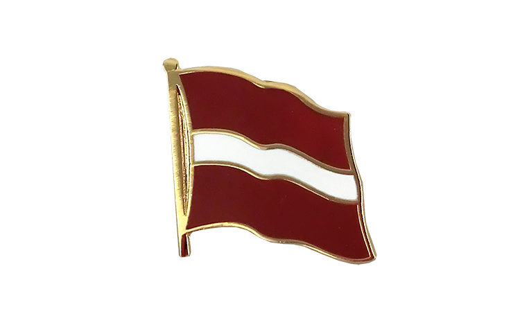 Flag Lapel Pin Latvia