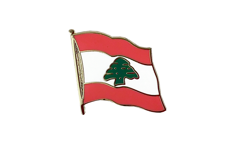 Flag Lapel Pin Lebanon