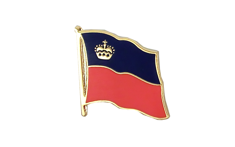 Flag Lapel Pin Liechtenstein