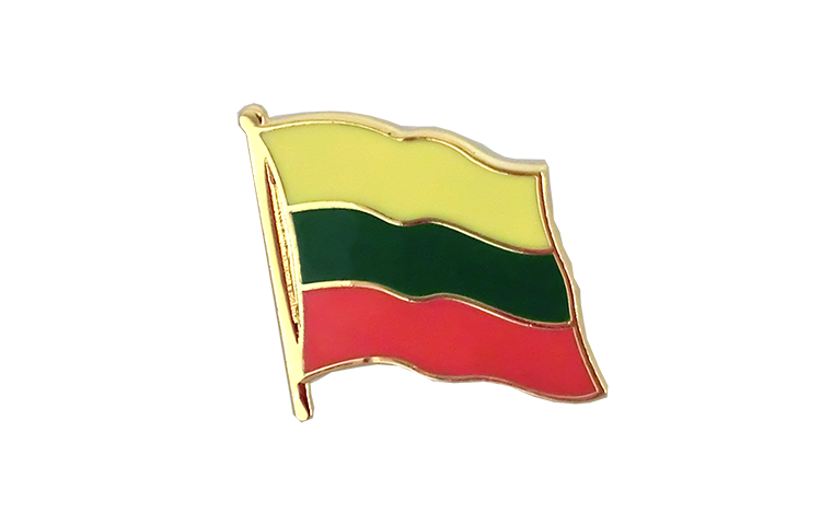 Flag Lapel Pin Lithuania