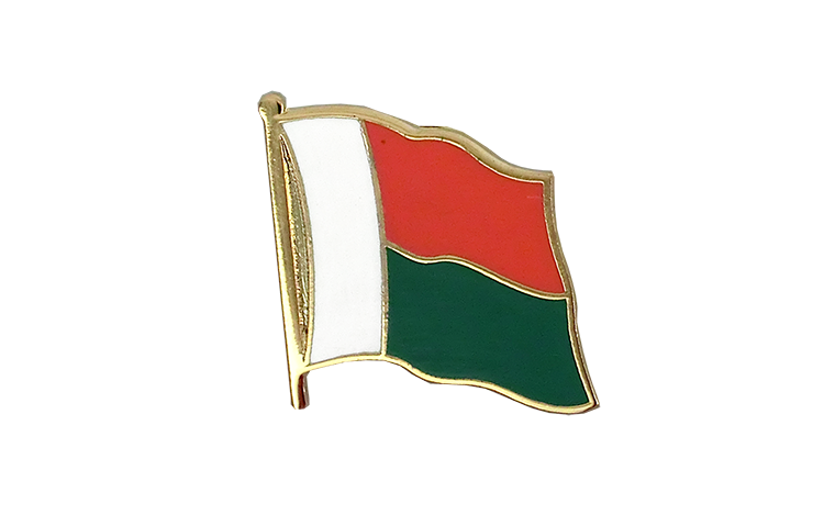 Flag Lapel Pin Madagascar