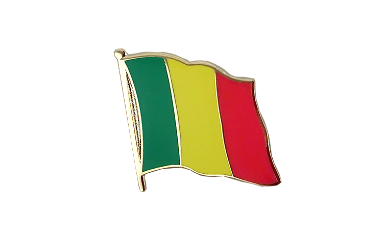 Flag Lapel Pin Mali
