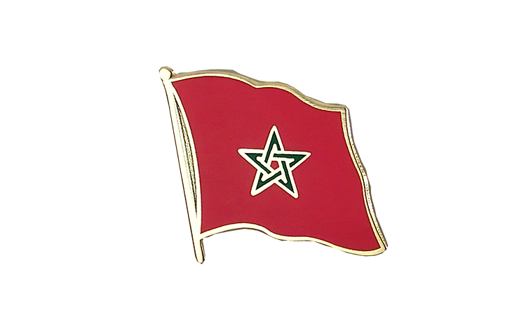 Flag Lapel Pin Morocco