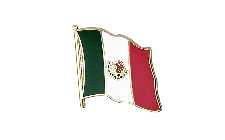 Flag Lapel Pin Mexico