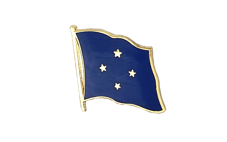 Flag Lapel Pin Micronesia