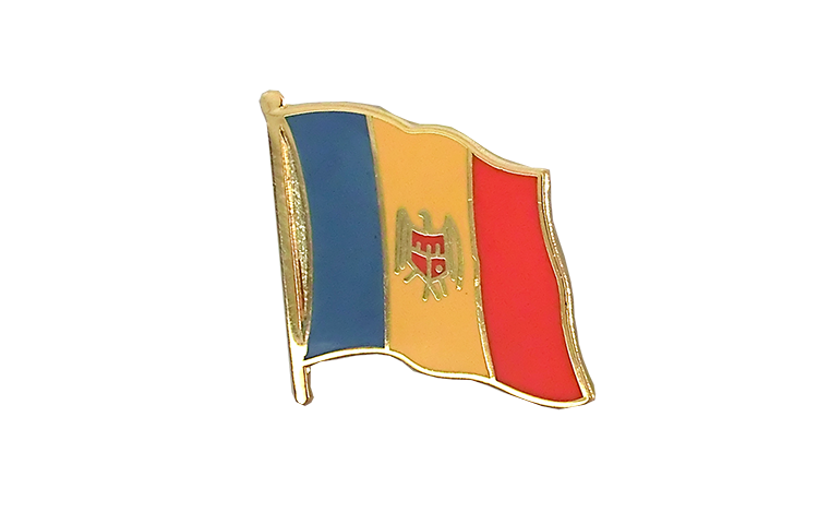 Flag Lapel Pin Moldova