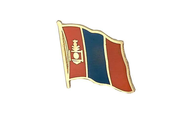 Flag Lapel Pin Mongolia