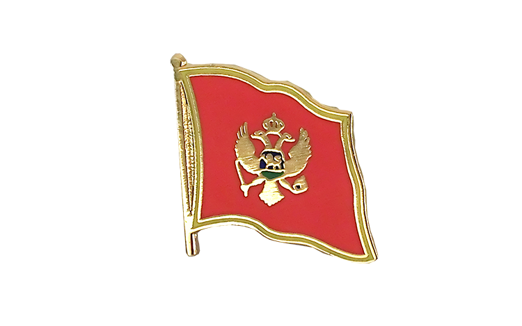 Flag Lapel Pin Montenegro