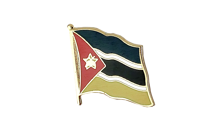 Flag Lapel Pin Mozambique