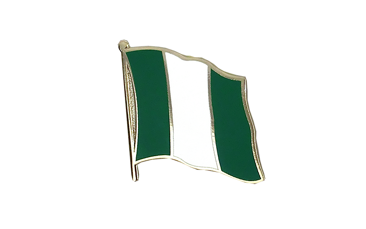 Flag Lapel Pin Nigeria