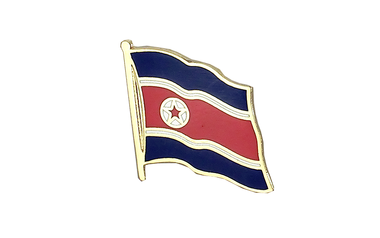 Flag Lapel Pin North corea