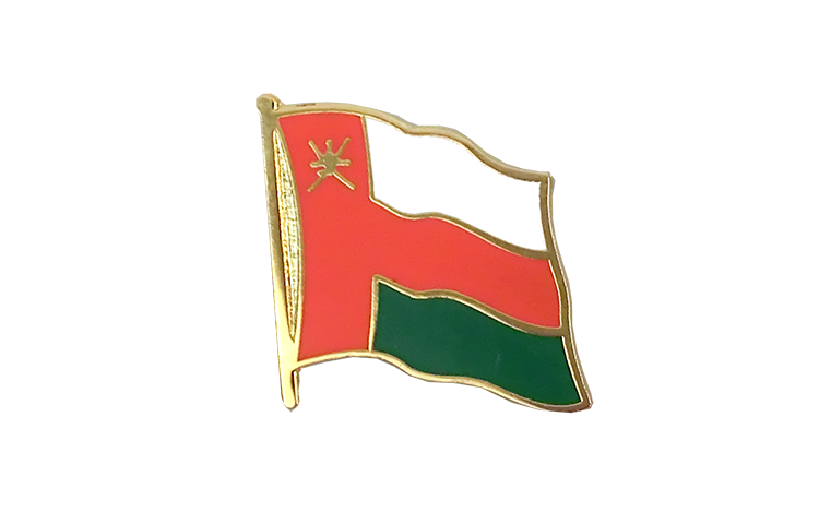 Flag Lapel Pin Oman