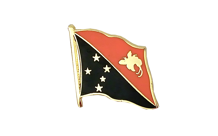 Flag Lapel Pin Papua New Guinea