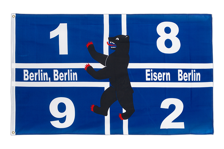 Berlin 1892 Eisern - 3x5 ft Flag