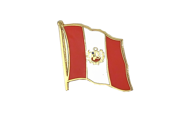Flag Lapel Pin Peru