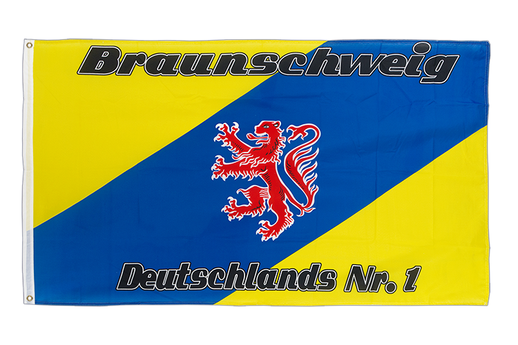 3x5 Brunswick Deutschlands Nr. 1 Flag