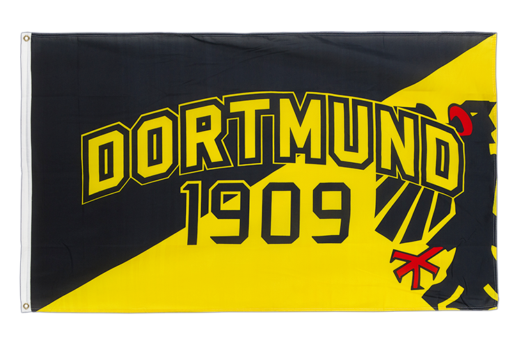 Dortmund 1909 with eagle - 3x5 ft Flag