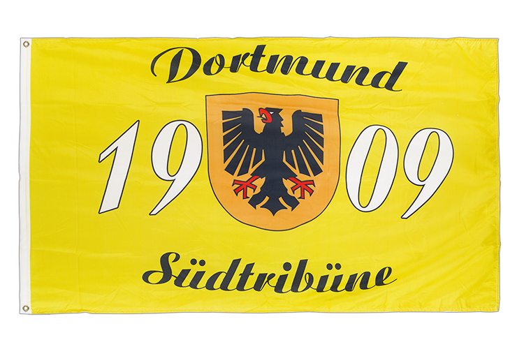 Dortmund 1909 Südtribüne Design 1 - 3x5 ft Flag