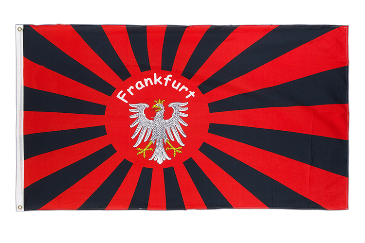 Frankfurt Rising Sun - 3x5 ft Flag