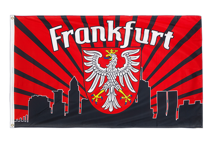 Frankfurt Skyline - 3x5 ft Flag