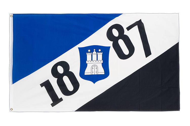 Hamburg 1887 - 3x5 ft Flag