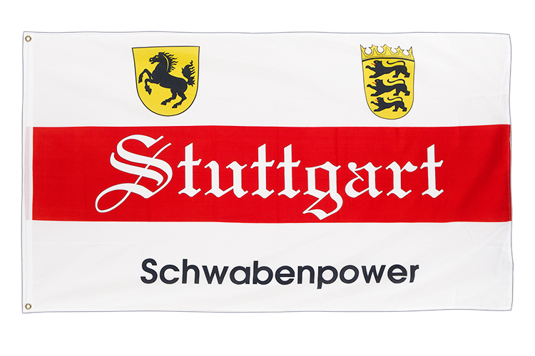 Stuttgart Schwabenpower - 3x5 ft Flag