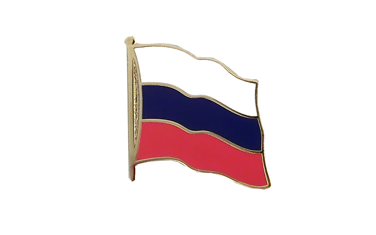 Flag Lapel Pin Russia