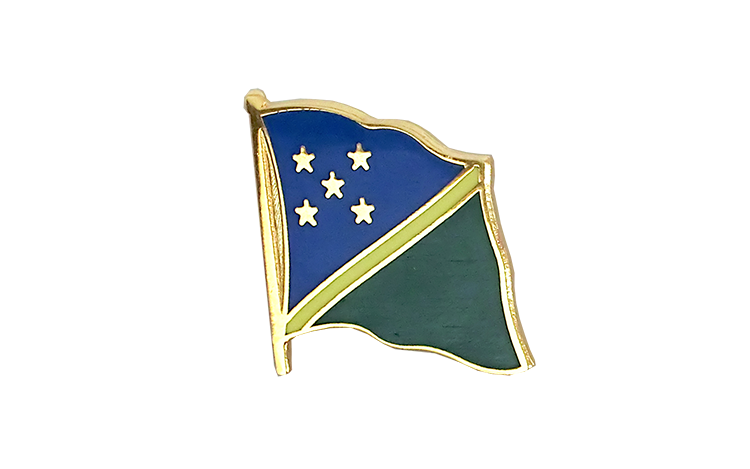 Flag Lapel Pin Solomon Islands