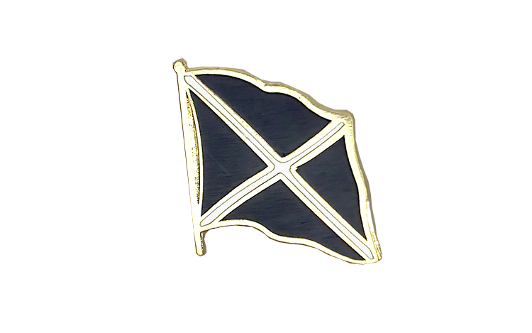 Flag Lapel Pin Scotland navy