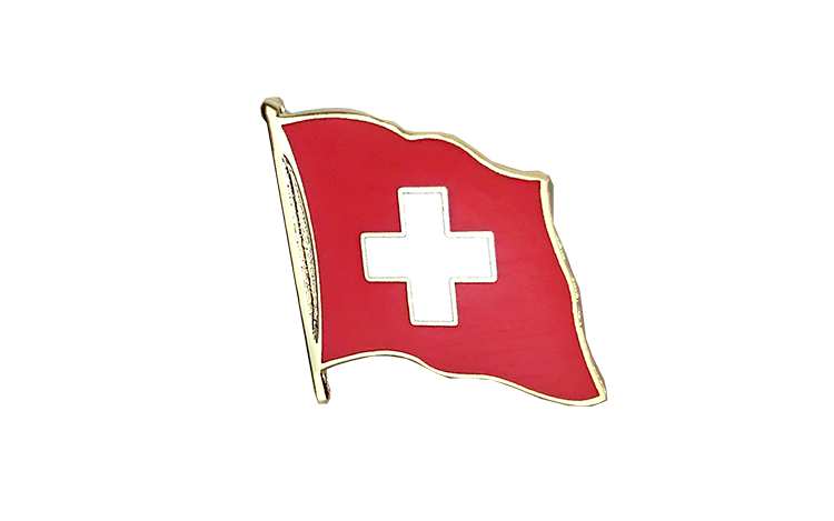 Flag Lapel Pin Switzerland