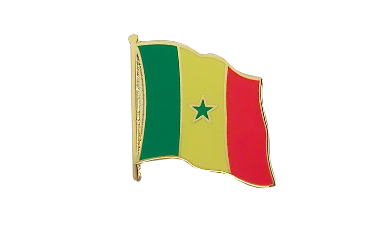 Flag Lapel Pin Senegal