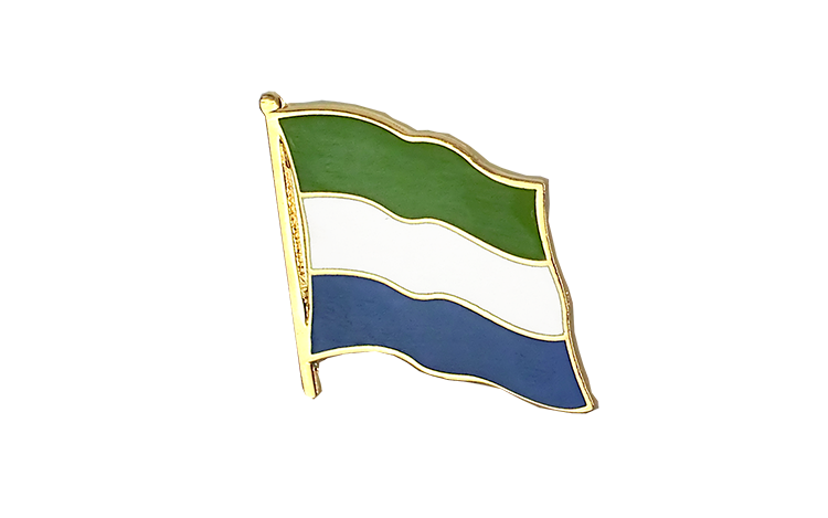 Flag Lapel Pin Sierra Leone
