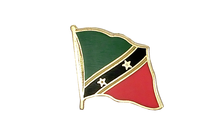 Flag Lapel Pin Saint Kitts and Nevis