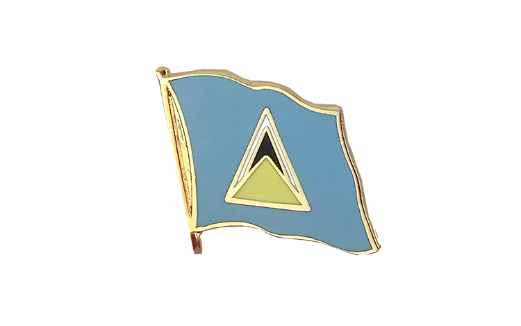 Flag Lapel Pin Saint Lucia