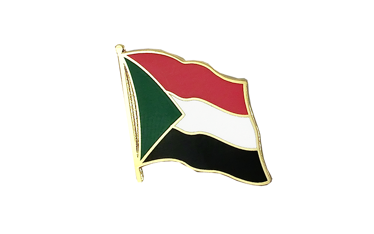 Flag Lapel Pin Sudan
