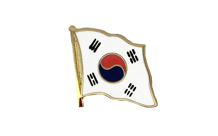 Flag Lapel Pin South Korea